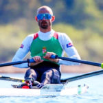 A váci Galambos Péter újabb aranyérmet nyert az evezős Európa-bajnokságon