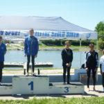 A fiatal dunakeszi kajakosok egy aranyérmet és két bronzot nyertek az Országos Maraton Bajnokságon