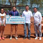 Izgalmas mérkőzések a Champions Bowl tenisz verseny dunakeszi döntőiben