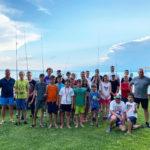 Nyári szép emlék - horgásztábor Dunakeszi balatonakarattyai üdülőjében